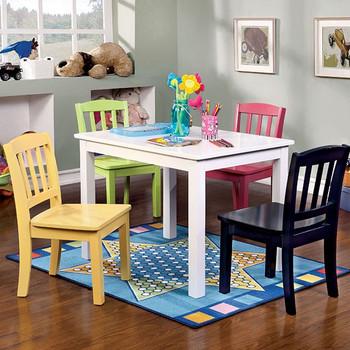 Kira 5-PC Kids Table Set