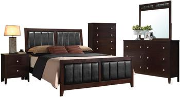 Zade Brown Bedroom Set