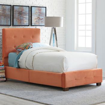 Novell Papaya Platform Bed