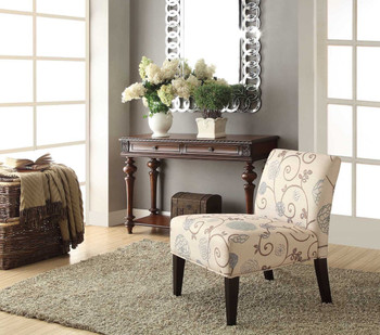 Rylan Floral Accent Chair