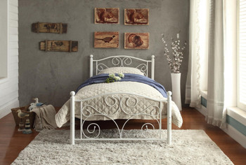 Brileigh Twin Metal Platform Bed