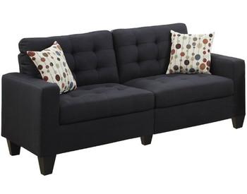 Tempoe Black Living Room Set