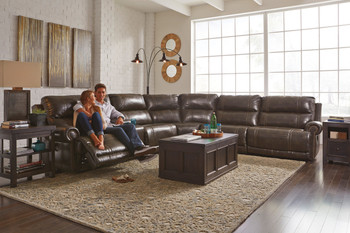 Broadway Zero Wall Reclining Sectional