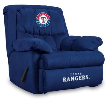 Texas Rangers Blue Microfiber Recliner