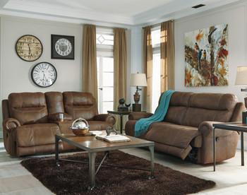 FREDERICK Brown Reclining Livingroom