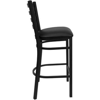 Frisco Black Bar Stool