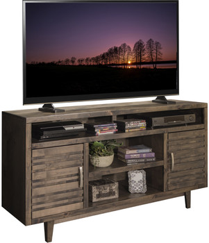 Cyrus Charcoal 3 Piece Entertainment Unit- Made In The USA