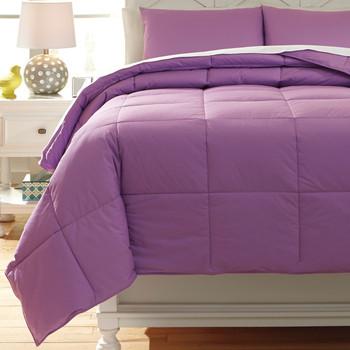 Plainfield Lavender Top of Bed Set