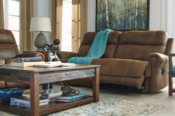 Frederick Brown Reclining Sofa