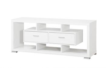 GARBI White 59 Inch Wide TV Stand