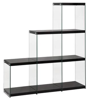 Finn Black Cubed Bookcase