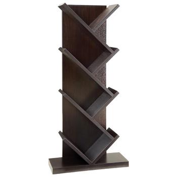 Oude Cappuccino Bookcase