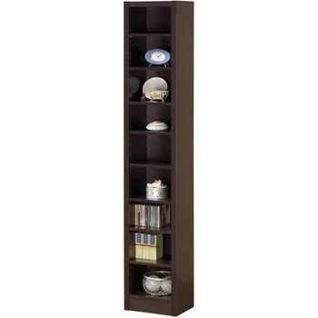 Acute Cappuccino 9 Shelf Bookcase