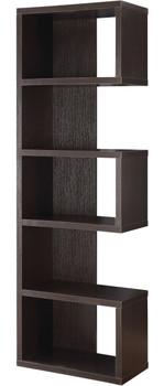 Theo Cappuccino Bookcase