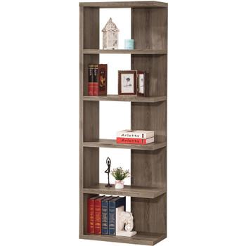 Emas Gray Bookcase