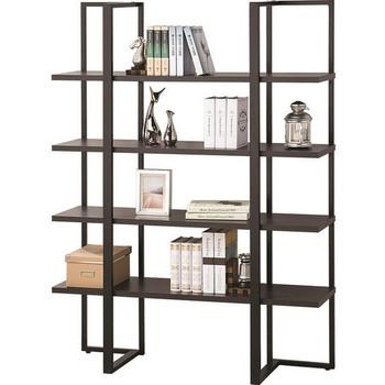 Zoran Wide Cappuccino Bookcase