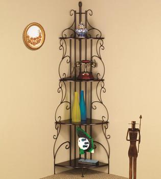 Barbara Corner Bookcase