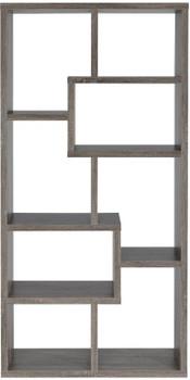 """COLM Gray 35"""" Wide Bookcase"""