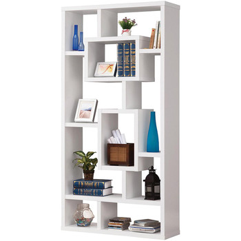 Kasia White Bookcase