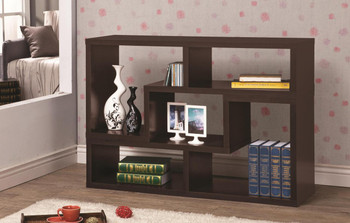Bai Dark Brown Bookcase