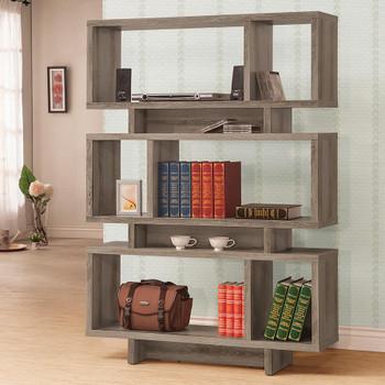 Sable Gray Bookcase