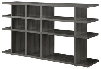 Apoch Gray Bookcase