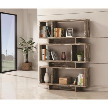 Sinjara Distressed Bookcase