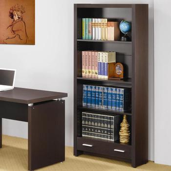 Fina Cappuccino Bookcase