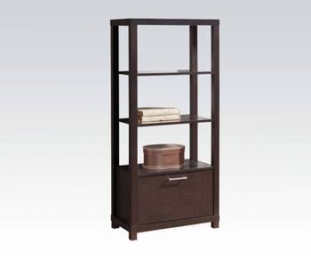 Eddard Espresso Bookcase