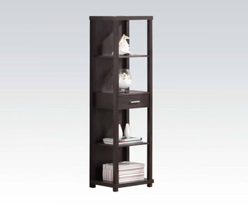 Jafar Espresso Bookcase