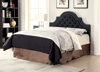 Miraje Black Headboard