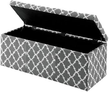 Fusion Gray Storage Bench