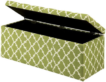 Fusion Green Storage Bench