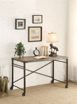 MALACHI 48'' Wide Desk with Wheels