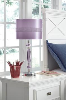 Dazzle Purple Table Lamp