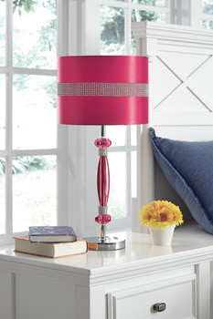 Dazzle Pink Table Lamp