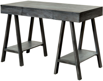 ARMANI 47'' Wide Grey Computer Desk