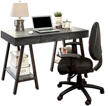 ARMANI 47'' Wide Grey Computer Desk