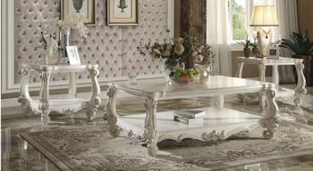 Chapelhill White End Table