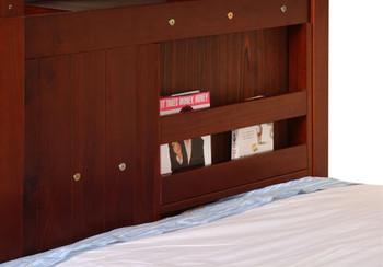 Nava Twin over Full Stairway Bunk Bed