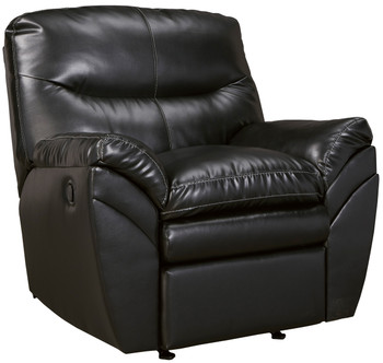 Maui Black Rocker Recliner