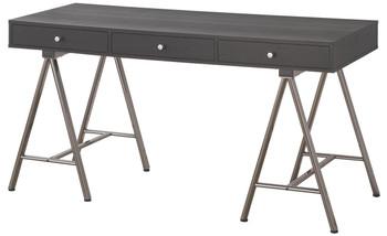 CAIN 58'' Wide Black & Gray Desk