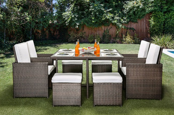 Jason 9 Piece Patio Dining Set