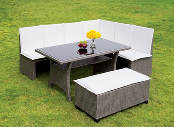 Adeline 3-PC Patio Dining Set