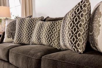 Adorjan Brown Living Room Set