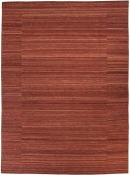Flatweave Brick Red 8' x 11' Rug