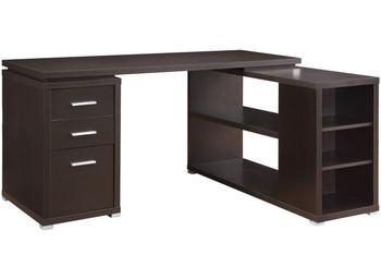 "MODERNA Brown 60"" Wide Desk"