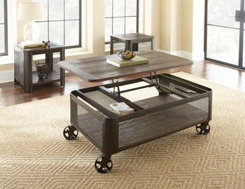Clint Lift-Top Table with Casters