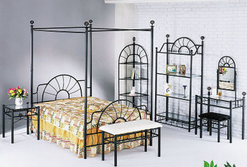 Chrislin Canopy Headboard and Footboard