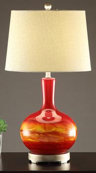 "Earthy 28""H Table Lamp"